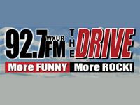 WXUR 92.7 The Drive Logo