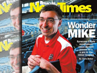 Jason Benetti on Syracuse New Times cover 7/3/12