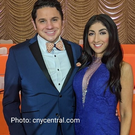 Niko Tamurian and Farah Jadran